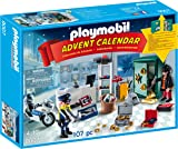 Playmobil 9007 Advent Calendar, Jewel Thief Police Operation with Working Safe and Money Box Function