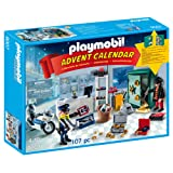 Playmobil 9007 Advent Calendar 'Jewel Thief Police Operation' with Working Safe and Money Box Function