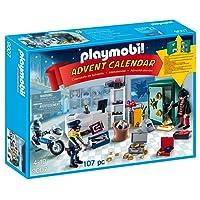 Playmobil 9007 - Jeu - Calendrier Avent Policier + Voleur