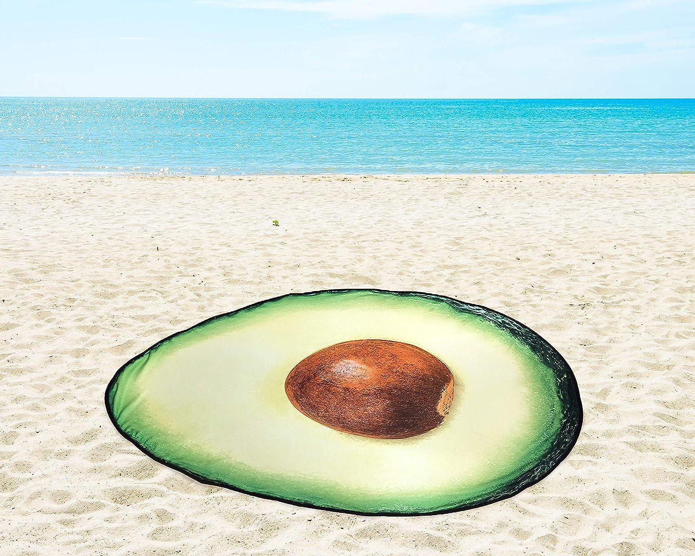 Toalla de Playa fonefunshop dise/ño de Aguacate