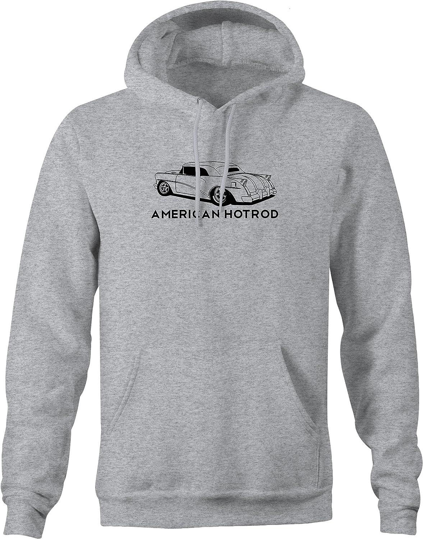 2XL American Hotrod Ford Chevy Rally Racing Big Block Car Sweatshirt