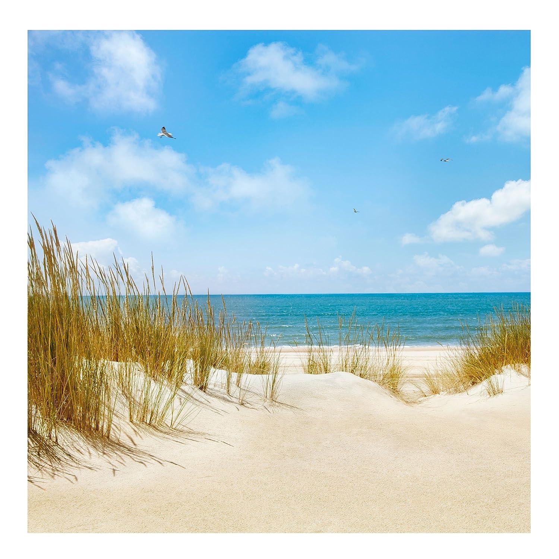 Vliestapete Strand an der Nordsee, HxB  192cm x 192cm
