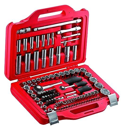 Usag 601 14 12 J100 U06010011 Assortimento In Cassetta Modulare Con Bussole Esagonali Ed Inserti Per Avvitatura 100 Pezzi