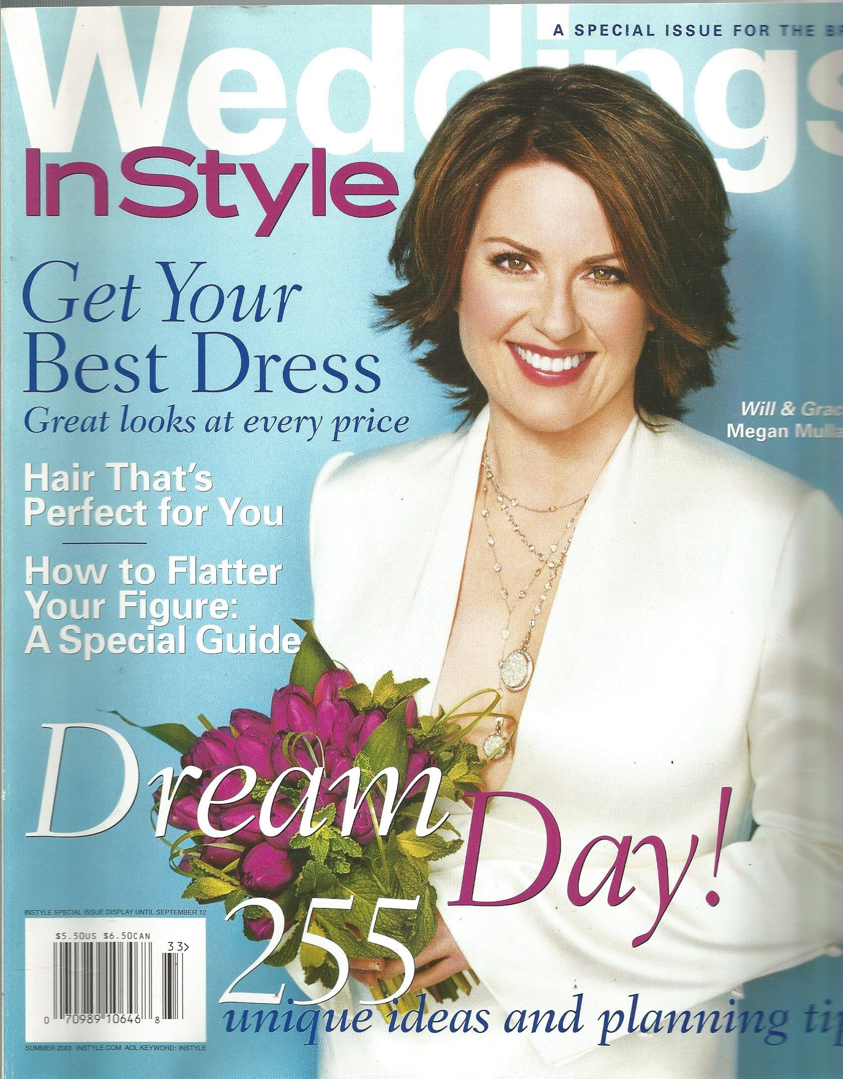 Instyle Weddings Magazine (Summer 2003,Megan Mullally) pdf epub