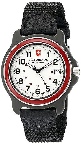 Victorinox 249088 - Reloj de Pulsera Hombre, Nailon, Color Negro