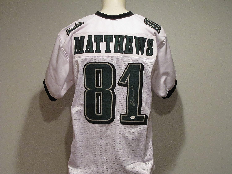 Jordan Matthews Autographed Signed Eagles Jersey at Amazon's ...