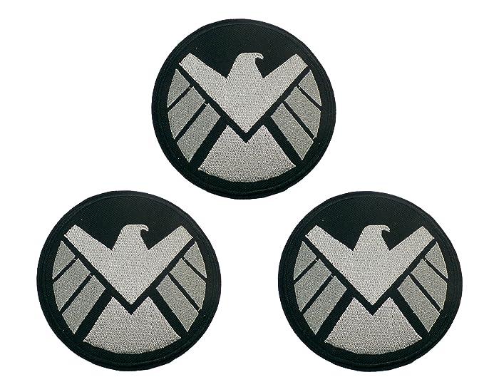 Amazon Marvel Comics Agents Of Shield Silver Hawk Patch
