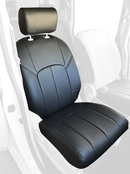 Clazzio 722231tan Tan Leather Front Row Seat Cover for Ford F150 Super Crew