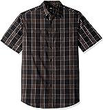 Dickies Mens WS562 Short Sleeve Flex Plaid Shirt Short Sleeve Button Down Shirt - Multi