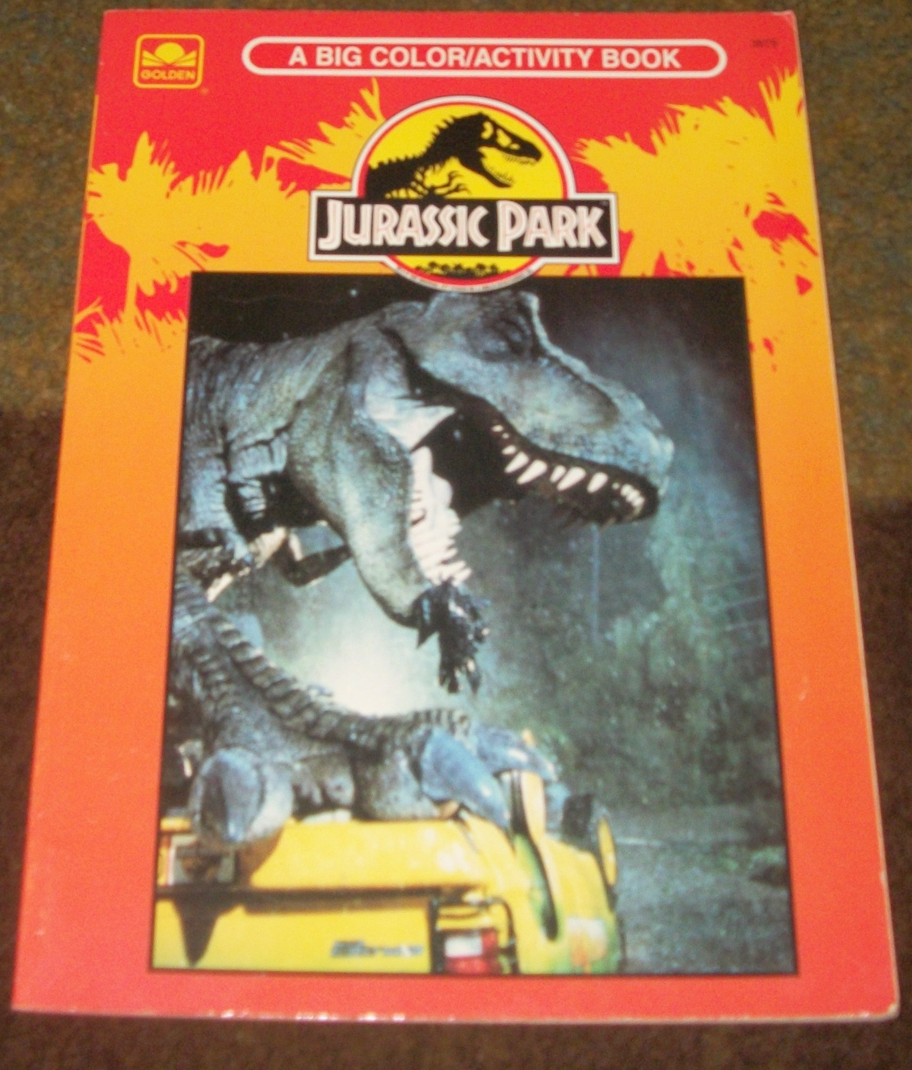 Jurassic Park The Colouring Books Bk 1 Golden 9780307039798 Amazon