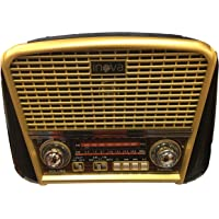 Radio Antigo Multifuncional Bluetooth Retro Top Fm Usb RECARREGAVEL