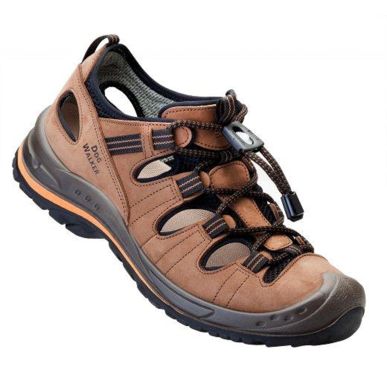 BAAK Sandalen Größe zum Wandern/Trekking DogWalker Freizeitschuhe ideal für Hundebesitzer, Größe Sandalen 45, 1022 - dc7a15