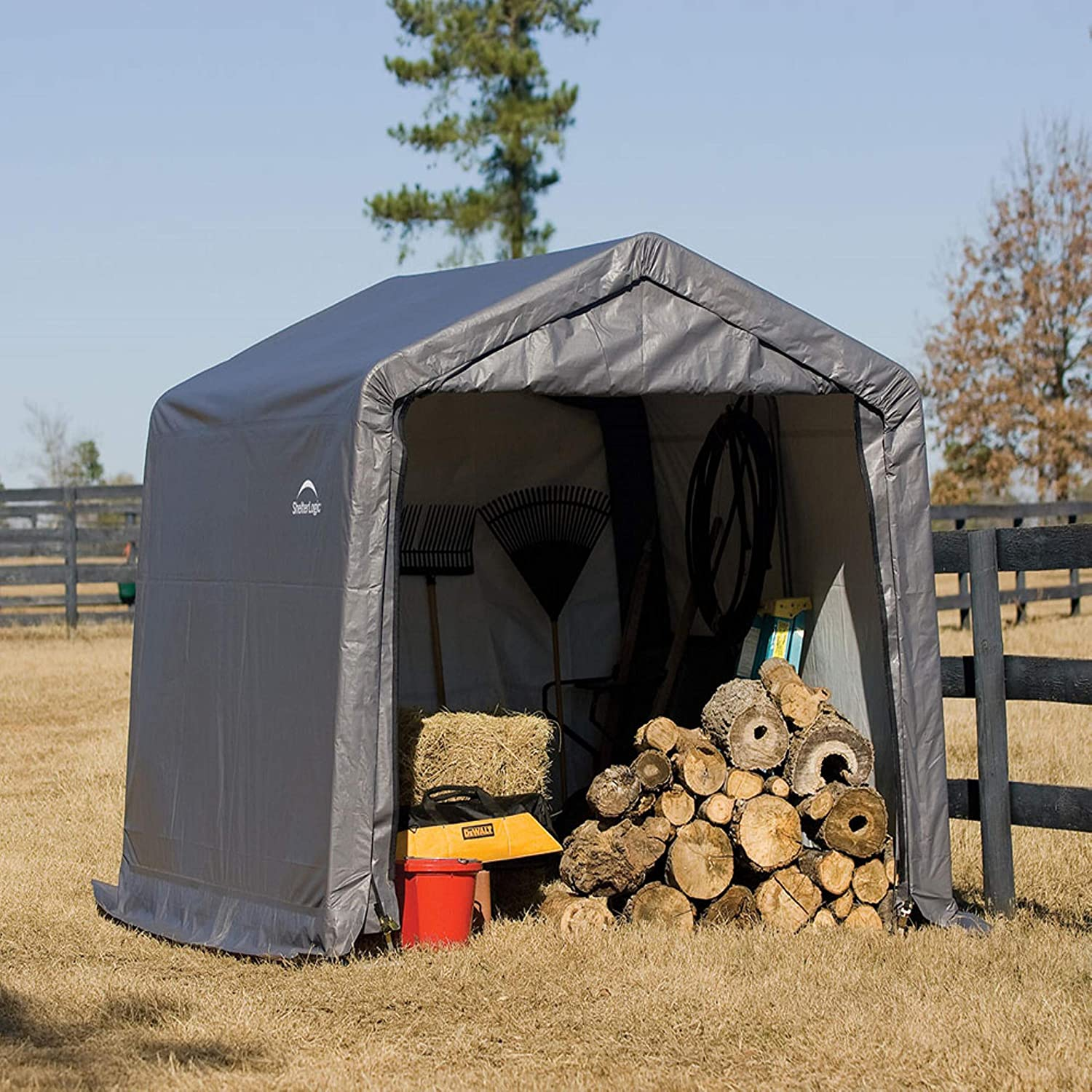 ShelterLogic Shed-in-a-Box Motorcycle Tent