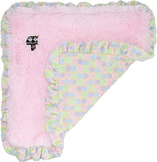 product image for BESSIE AND BARNIE Ultra Plush Bubble Gum/Ice Cream Luxury Shag Dog/Pet Blanket