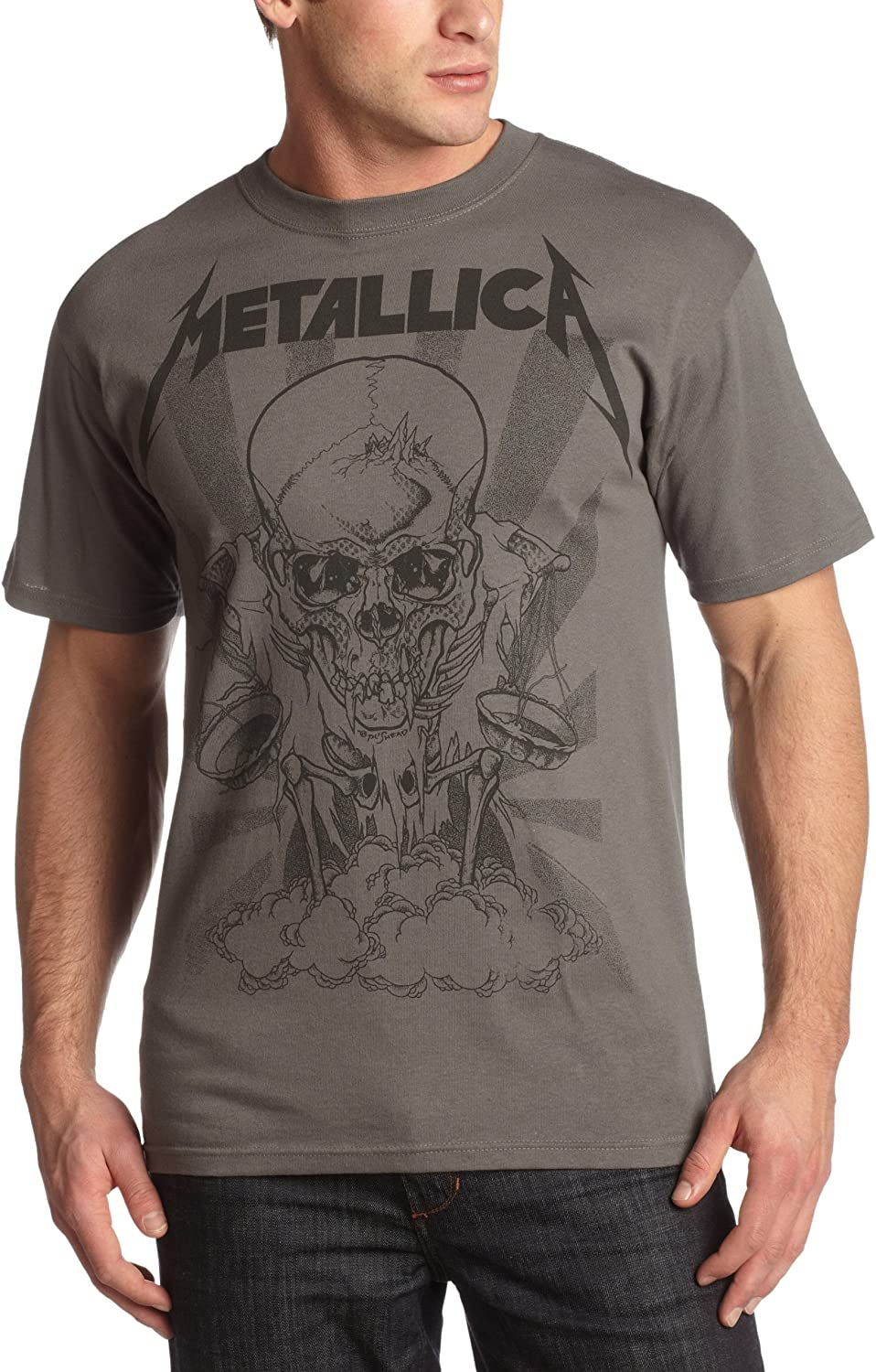 "Bravado Men's Metallica ""Pushed Boris"" T-Shirt"