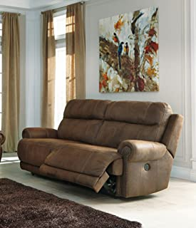 Ashley Furniture Signature Design - Austere Recliner Sofa - Power Reclining Love Seat - 2 Seat & Amazon.com: Ashley Furniture Signature Design - Hogan Reclining ... islam-shia.org