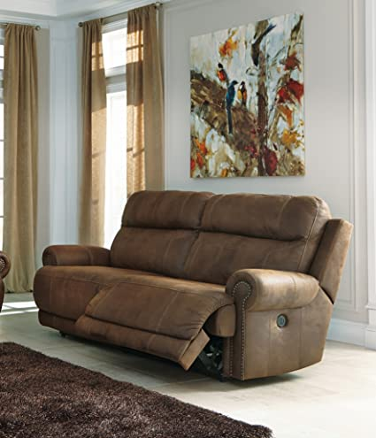 Ashley Furniture Signature Design   Austere Recliner Sofa   Power Reclining  Love Seat   2 Seat