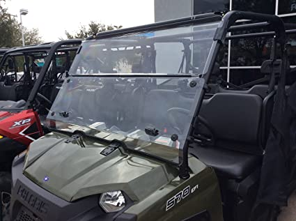 2016-2019 POLARIS RANGER 500 2 SEAT 3//16 POLYCARBONATE FULL WINDSHIELD