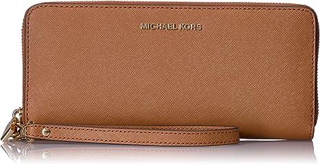 TALLA 1.9x10.2x21 centimeters (W x H x L). Michael Kors Women's Jet Set Travel Continental Leather Wallet Baguette