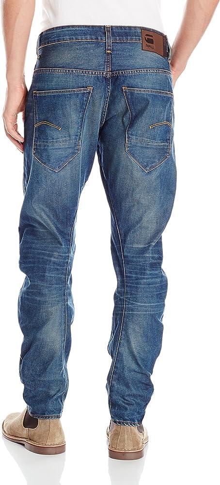 G-Star Raw 50783 ARC 3D Slim  W34 L34 RRP £99.99 Medium Aged Hydrite Denim Jeans