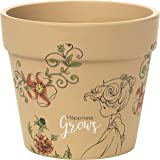 Garden Gifts by Precious Moments 171451 Happiness Grows 3.75-inch High Terra Cotta Pot Planter With 4-inch Diameter Yard Décor
