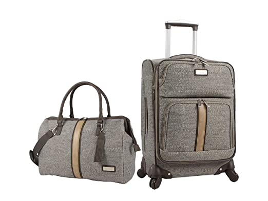 Amazon.com: Nicole Miller - Juego de maletas de 2 piezas ...