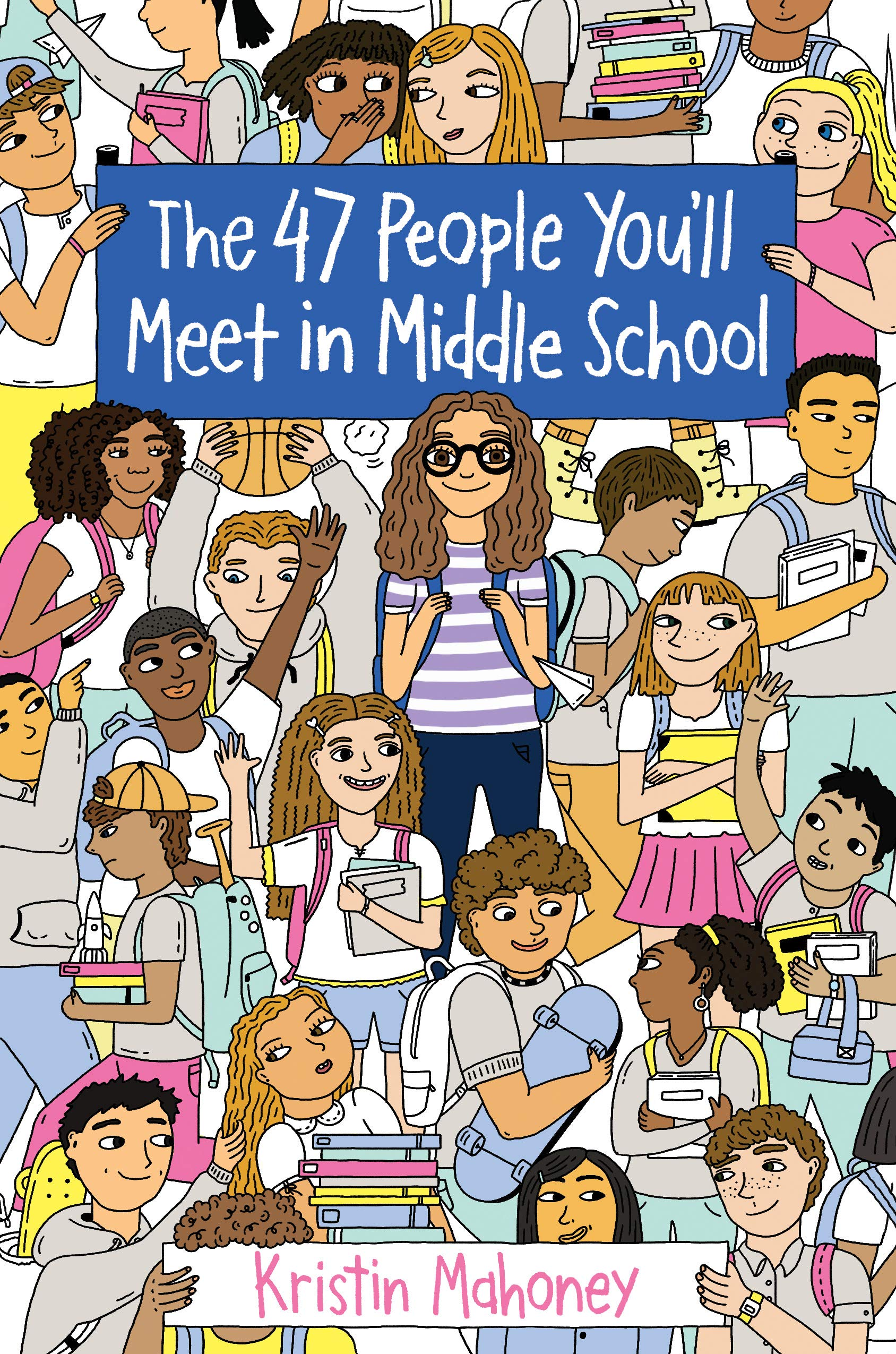 Image result for 47 people you'll meet in middle school amazon