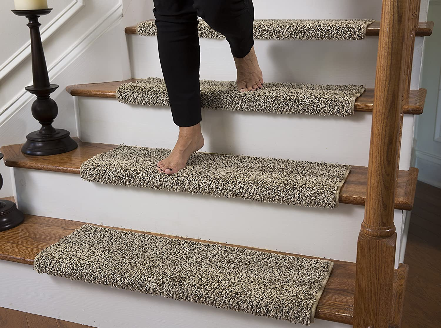 Carpet Stair Pads 14 Carpet Stair case Treads Dove Grey Stain Free