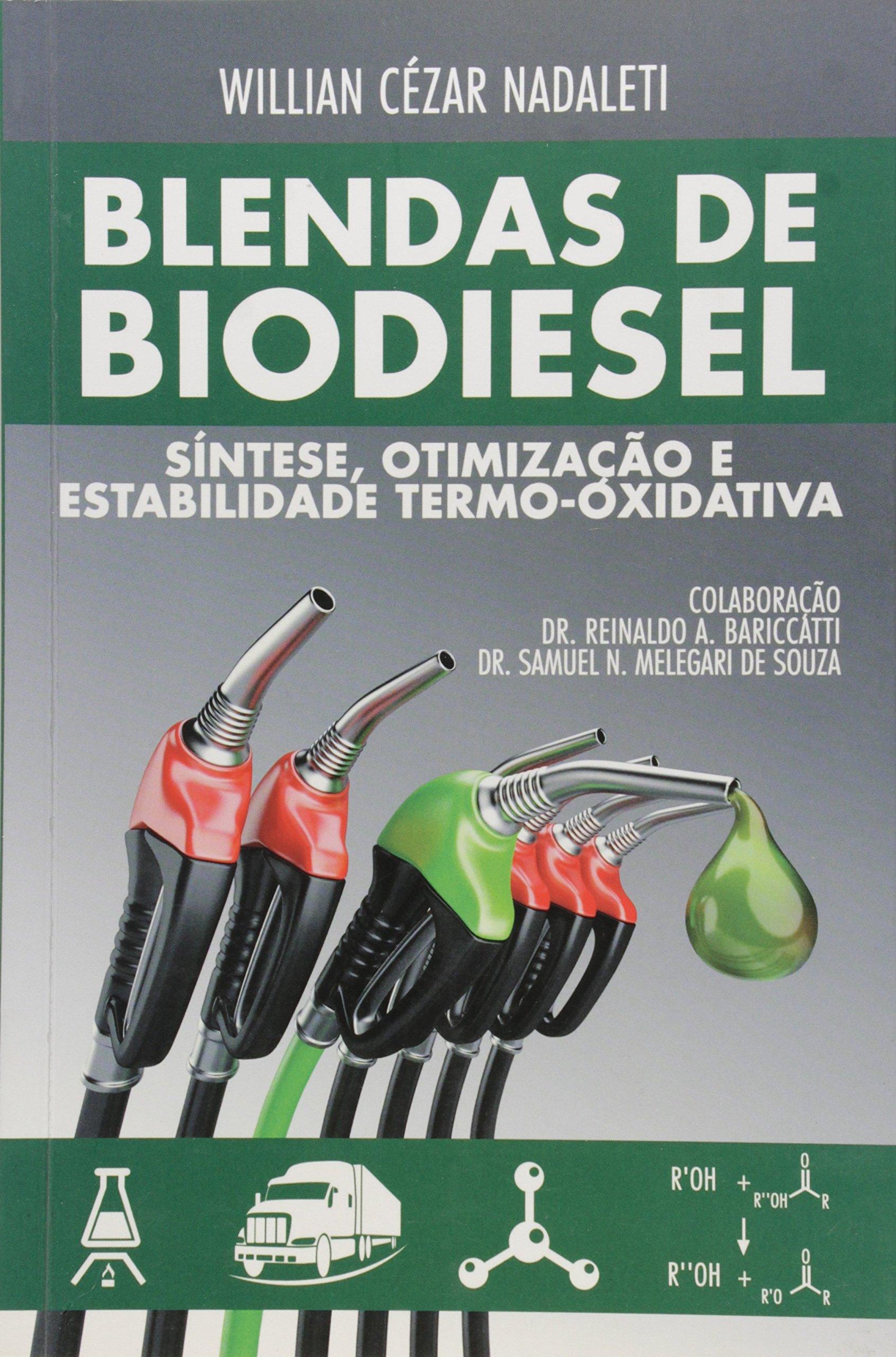 Blendas de Biodiesel Sintese, Otimizacao e Estabilidade Termo-oxidativa ebook