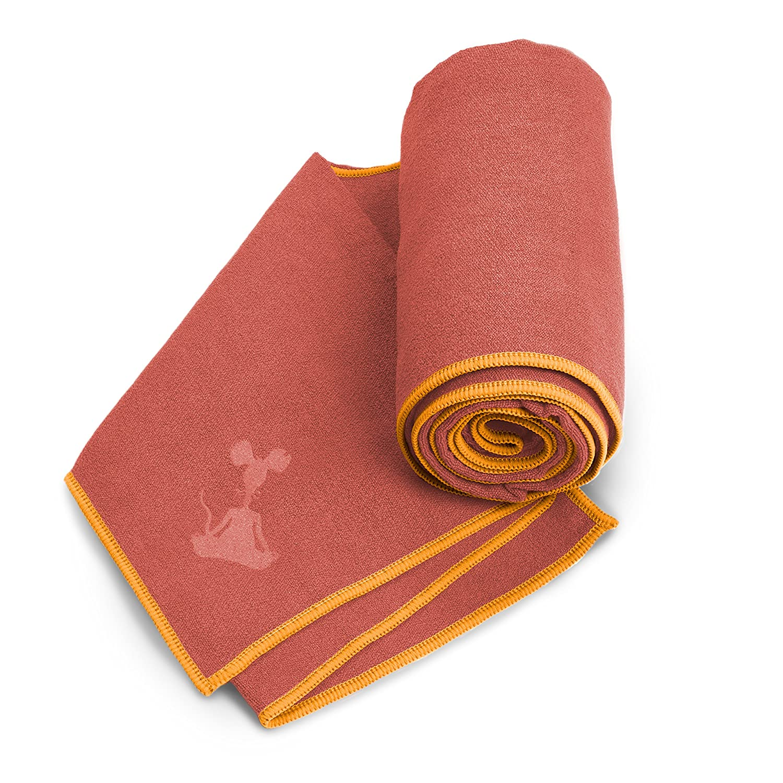 YogaRat Yoga Towel Yoga Hand Towel Option Available Lightweight Yoga Mat Towels Thin 100/% Microfiber -/Multiple Sizes -/Non-Slip Absorbent