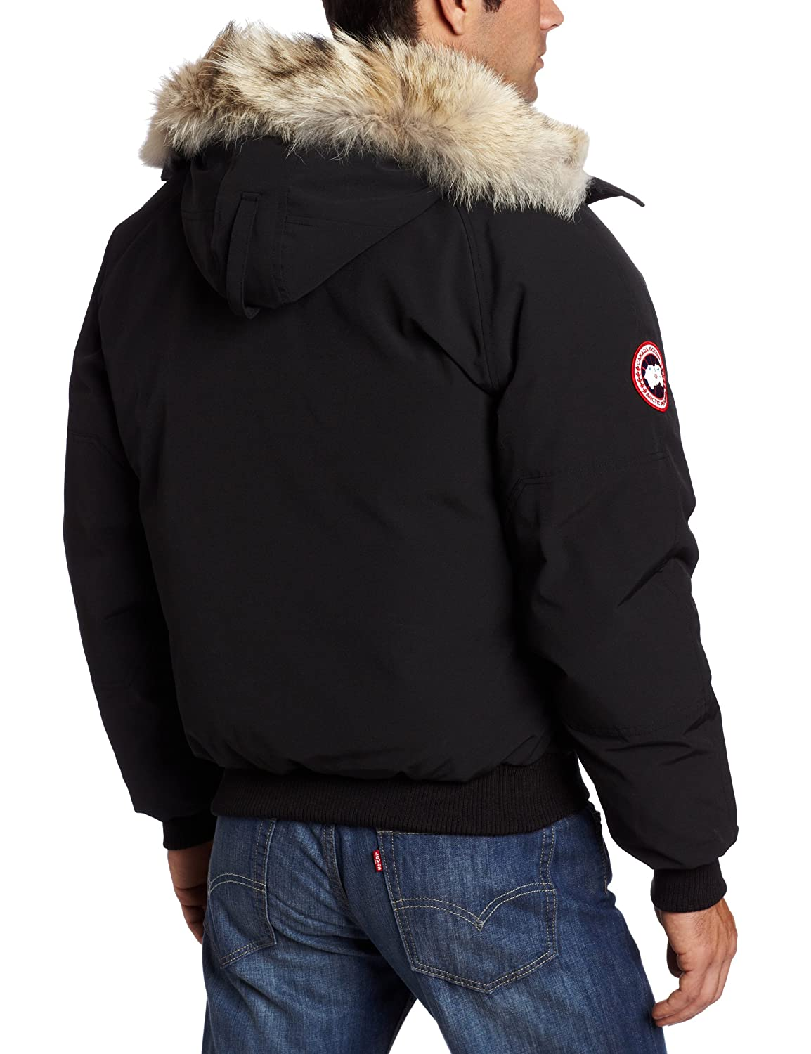 Canada Goose Men's Chilliwack Bomber (Black, Large): Amazon.ca: Sports & Outdoors