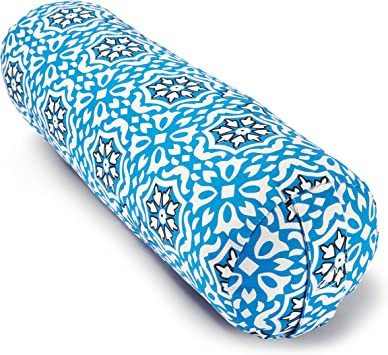 Blue Dove Yoga Bolster Made from GOTS Certified Organic Cotton