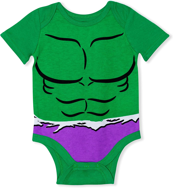 Thor Hulk Spiderman Marvel Pack de 5 unidades de beb/é con Iron Man Capit/án Am/érica