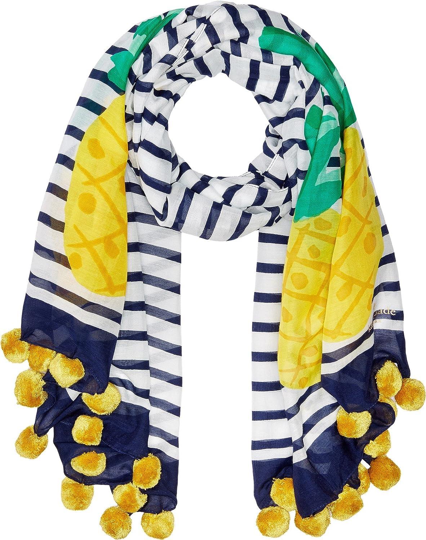 Kate Spade New York Womens Pineapple Stripe Oblong