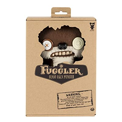 Fuggler Medium 9 inch Plush multiple color (ONE SUPPLIED AT RANDOM): Toys & Games