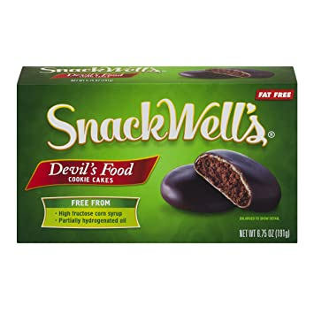 Amazoncom Snackwells Devils Food Cookie Cakes Original 675 Ounce