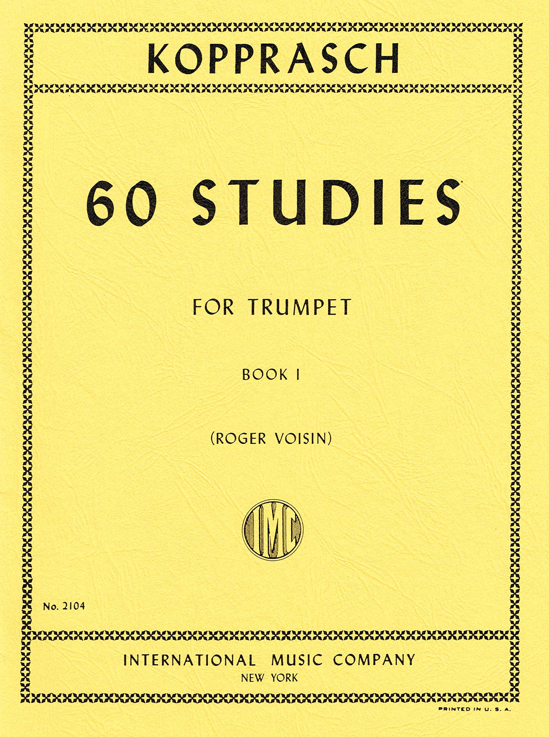 Book 1 Sixty Selected Studies for Trumpet