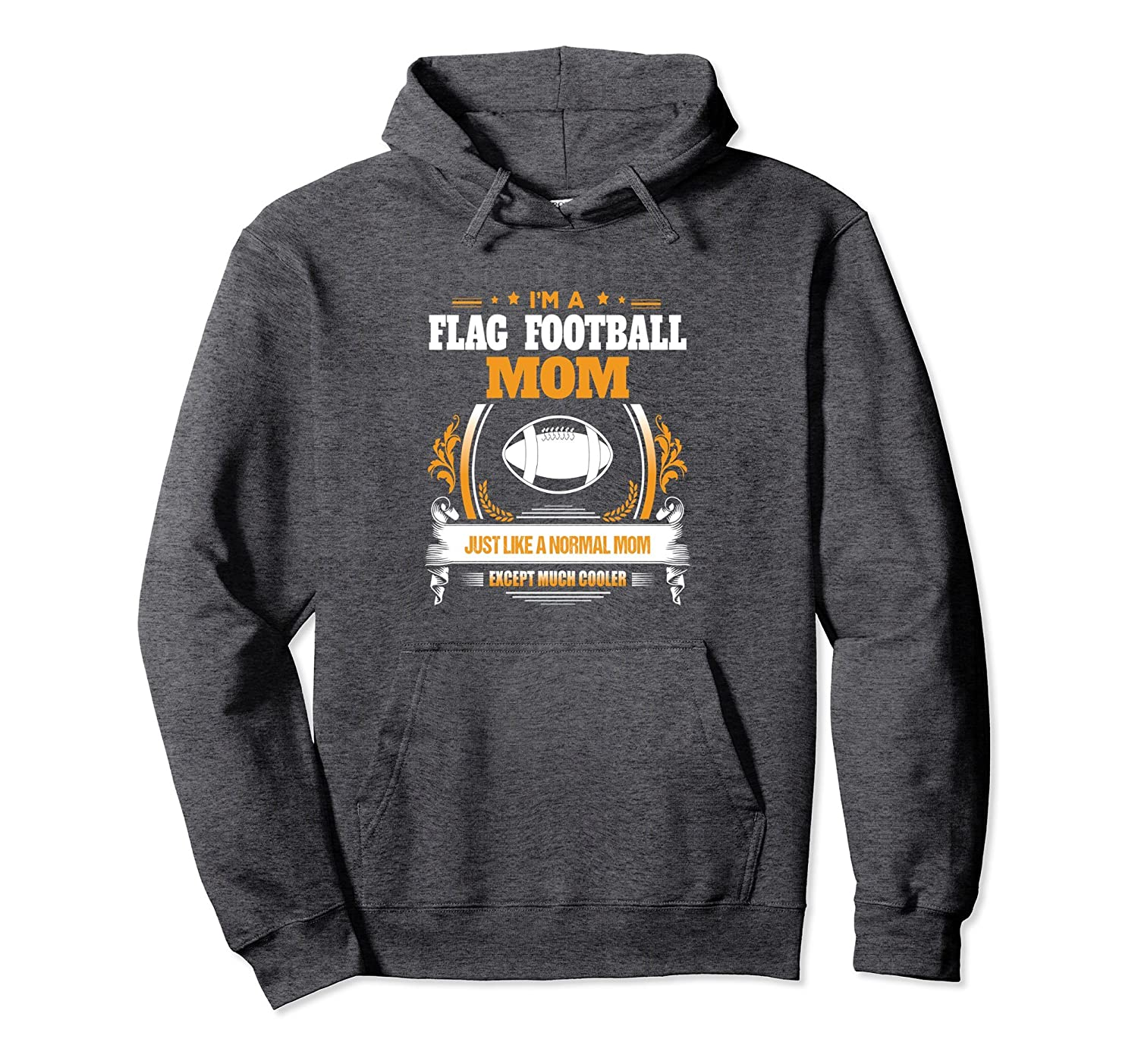 Funny Flag Football Mom Hoodie Gift for Mom-TH