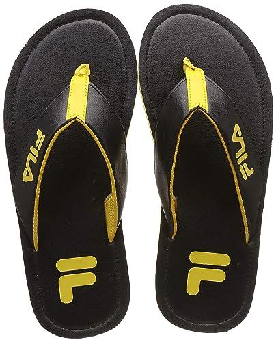 ead69587c Fila Men s Donatus Black Hawaii House Slippers-10 UK India (44 EU ...