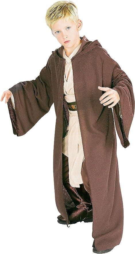 Amazon.com: Bata con capucha de Jedi Rubies Star Wars Deluxe ...