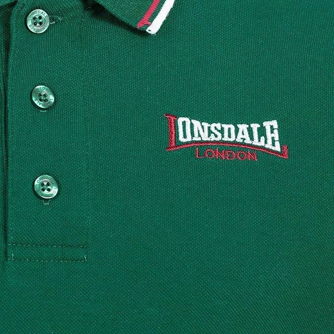 Lonsdale Polo para Hombre: Amazon.es: Ropa y accesorios
