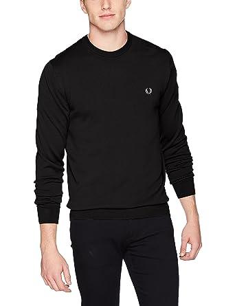9de748c4d2e3e6 Amazon.com: Fred Perry Men's Classic Crew Neck Sweater: Clothing