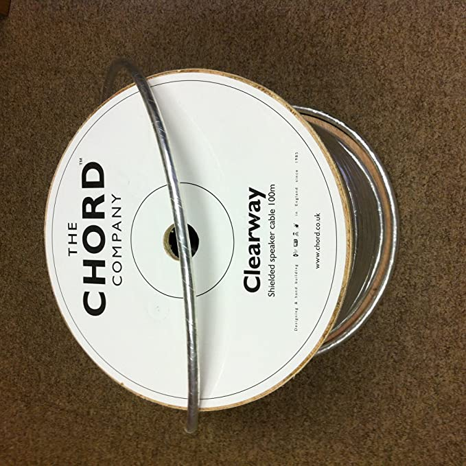 Chord Clearway Speaker Cable Amazon Electronics