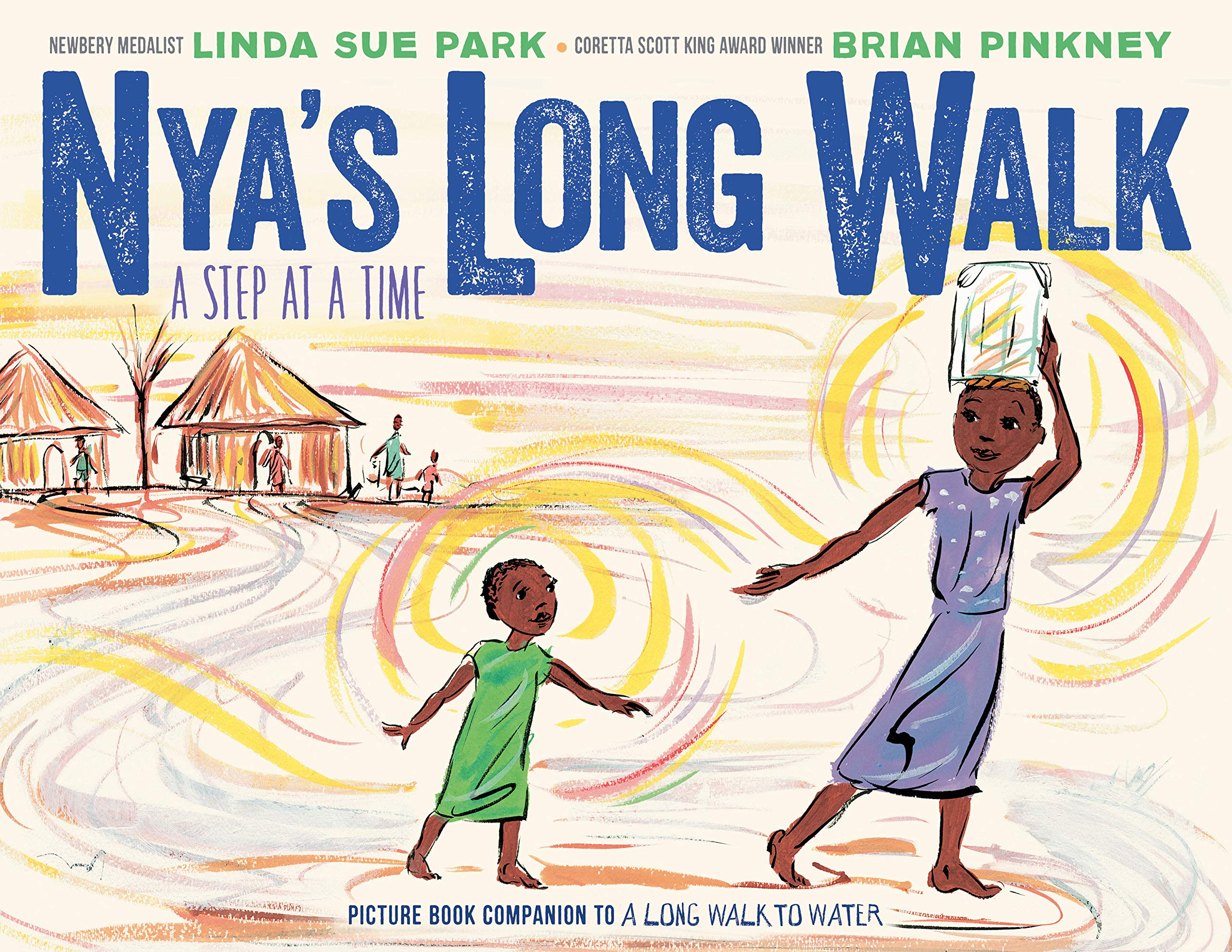 what is one example of the way linda sue park altered history in a long walk to water