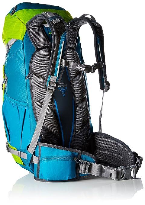 Deuter Act Trail Pro 34 Mochila, Unisex Adulto, Verde (Petrol/Kiwi), 24x36x45 cm (W x H x L): Amazon.es: Deportes y aire libre
