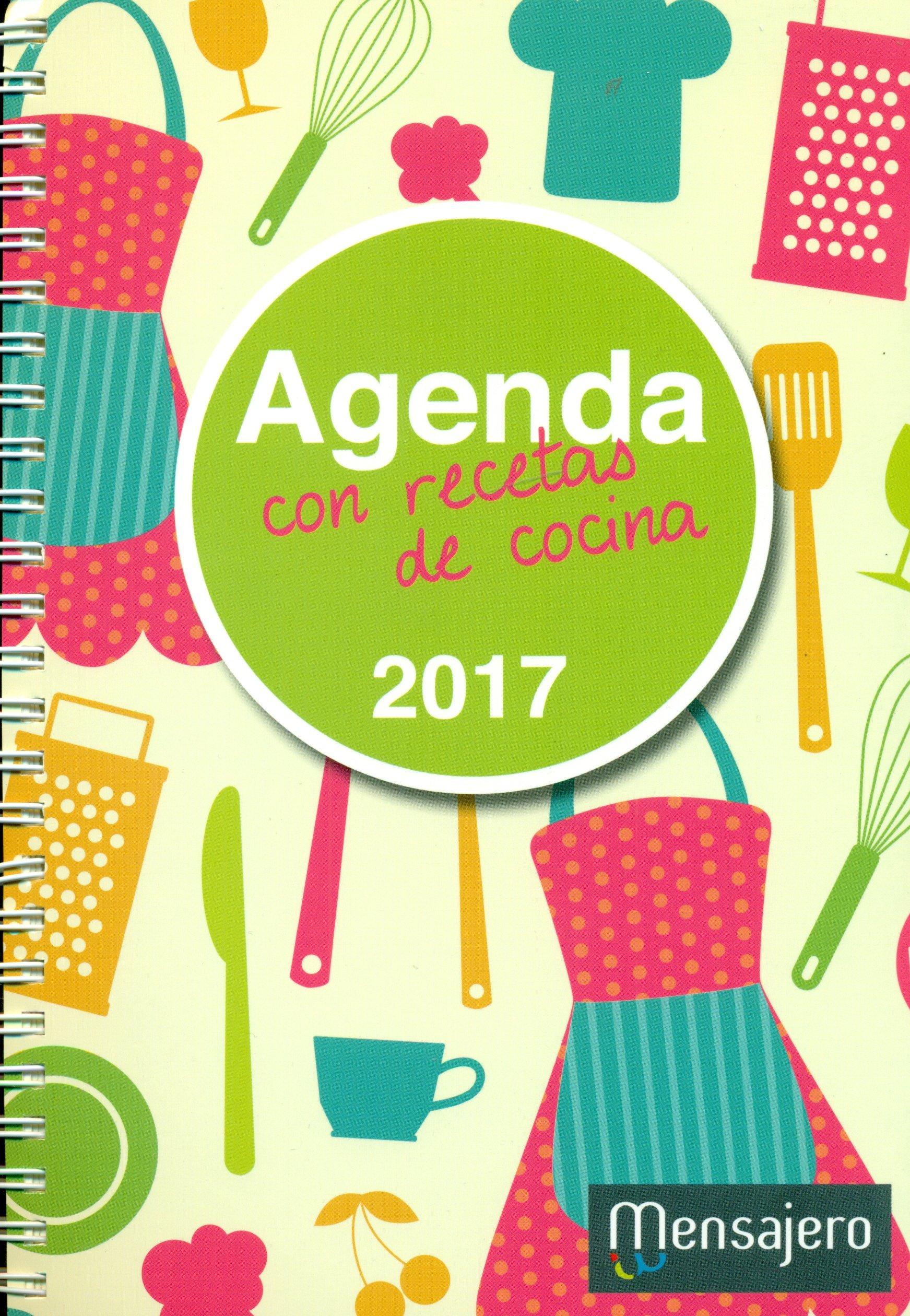 AGENDA 2017 CON RECETAS DE COCINA: AAVV: 9788427138438 ...