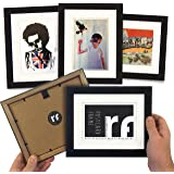 postcard frame with conservation backing board quality wooden picture frame acid free