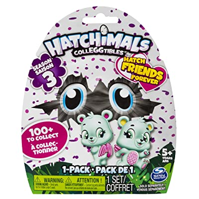 Hatchimals 6041315 Colleggtible Animals & Figures 1 Pack S3: Toys & Games