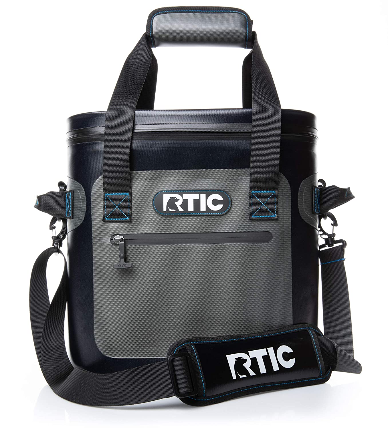 RTIC Soft Pack 20, Grey Backpack Cooler Rtic