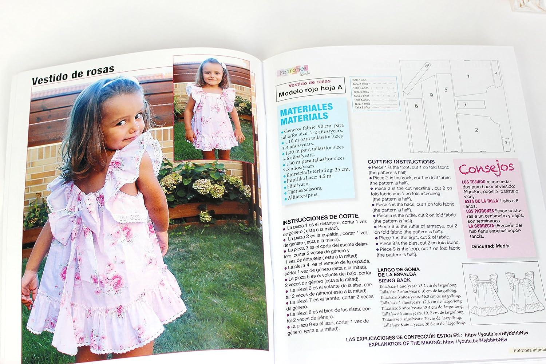 Revista patrones de costura infantil, nº 1. Moda Primavera-verano ...